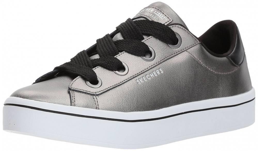 Skechers Street Women's Hi Lite-Metallic Leather Fashion Sneaker Cheap and beautiful fashion