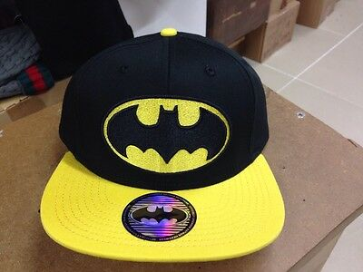 Batman Snapback Black/Yellow Peak  Cap/Hat