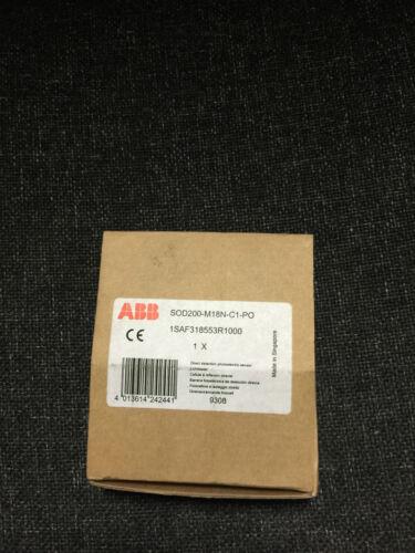 Abb sod200-m18n-c1-po directo de detección fotoeléctrica Sensor