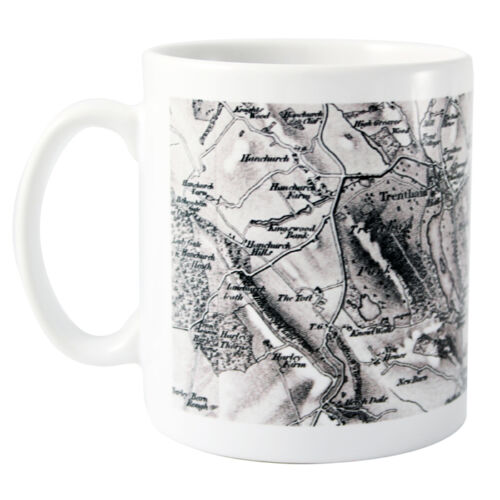 Unique Gift Different aged maps available Your UK Postcode Printed on a Mug