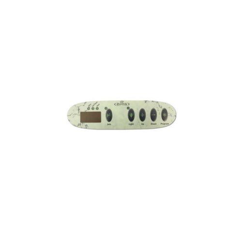 Gecko Topside 5 Button Overlay Sticker Dimention One SSPA1 1-Pump 01560-357