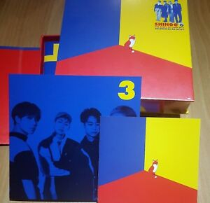 SHINEE-The-Story-of-Light-EP3-6th-Album-CD-Photocard-Photobook-Sealed-NEW