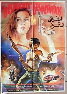 Desperate Desperados Dir Joseph Lai 39x27 Ifd Lebanese Movie Poster 80s Ebay