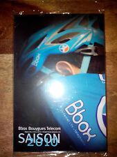 LOT DE CARTES CYCLISME CYCLISTE FICHES BBOX  BOUYGUES TELECOM 2010 SOUS BLISTER