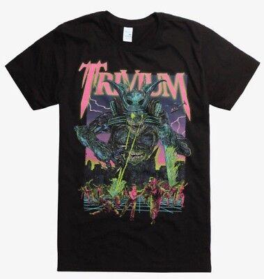 Authentic TRIVIUM Band Durga Heavy Metal T-Shirt S-2XL NEW