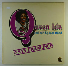 "12"" LP - Queen Ida And Her Zydeco Band - In San Francisco - L4765"