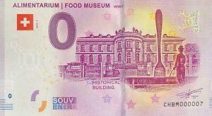 BILLET-0-EURO-ALIMENTARIUM-FOOD-MUSEUM-SUISSE-2019-NUMERO-007