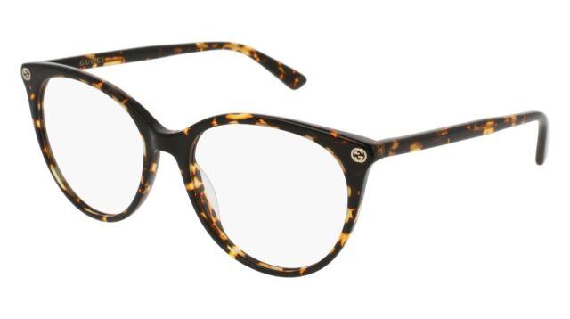 e09c68e00af Gucci Havana GG 0093 O 002 Eye Wear Eyeglasses for sale online | eBay