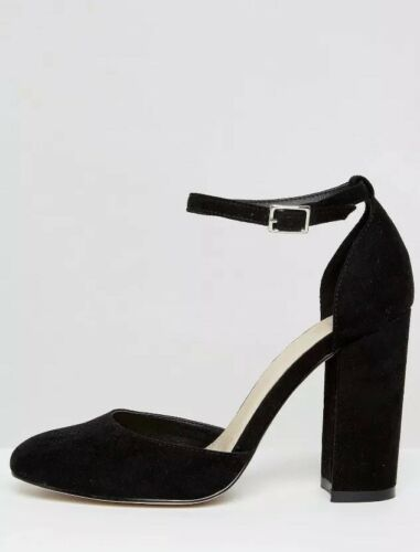 New Asos out Shoes 6 Priya Of Brand Heels Part Stock Black 2 4qXrPIwX