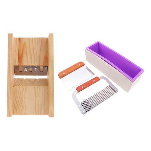 4 Teile Los Silikonform für Seifen in Quadratisch Form Mit Seifen Kuchen