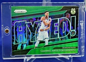 GIANNIS-ANTETOKOUNMPO-PRIZM-GREEN-GET-HYPED-REFRACTOR-SP-MILWAUKEE-BUCKS