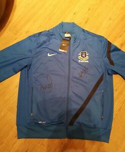 Signed-Richarlison-amp-Leighton-Baines-Everton-Jacket-2019-BRAND-NEW-ADULTS-XL