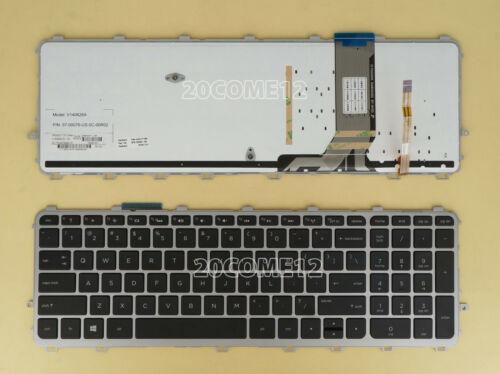 New For HP 15-j059nr 15-j060us 15-j075nr 15-j084nr 15-j085nr Keyboard US Backlit