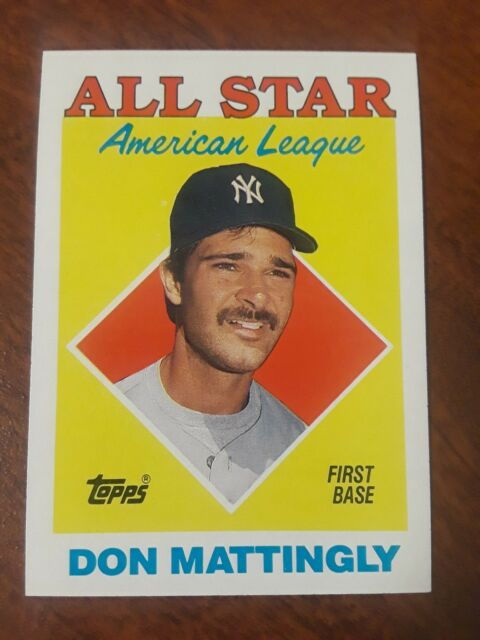 1987 Topps Don Mattingly 386 Baseball Card