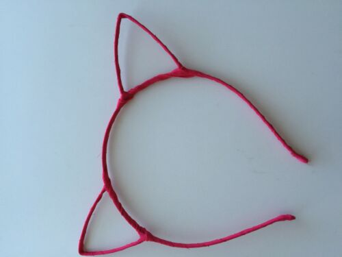 Women Girl Kid Sweet Bunny Cat Kitty Costume Ear Party Hair head band Prop Hoop