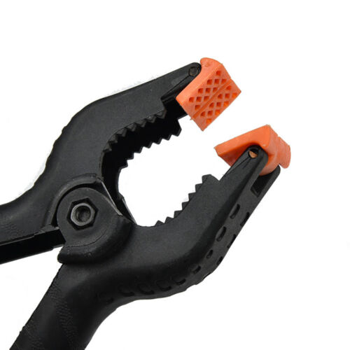 2//3//4//6 Inch Heavy Duty Plastic Nylon Clip Tips Jaw Opening Spring Clamp Tools