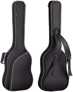 CAHAYA Electric Bass Guitar Bag Protective Acoustic Soft Case Lightweight Black