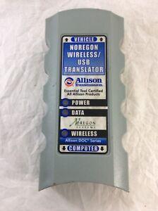 Noregon-Wireless-USB-Translator-Allison-Transmission-Kit-Heavy-Duty-Truck-USED