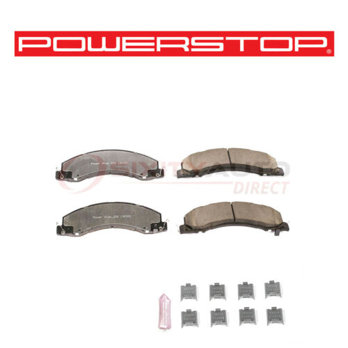 Power Stop Truck /& Tow Severe Duty Disc Brake Pads for 2011-2017 Ram 5500 ba