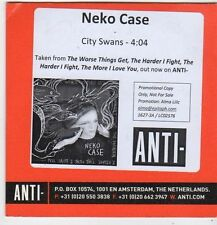 (FJ218) Neko Case, City Swans - 2014 DJ CD