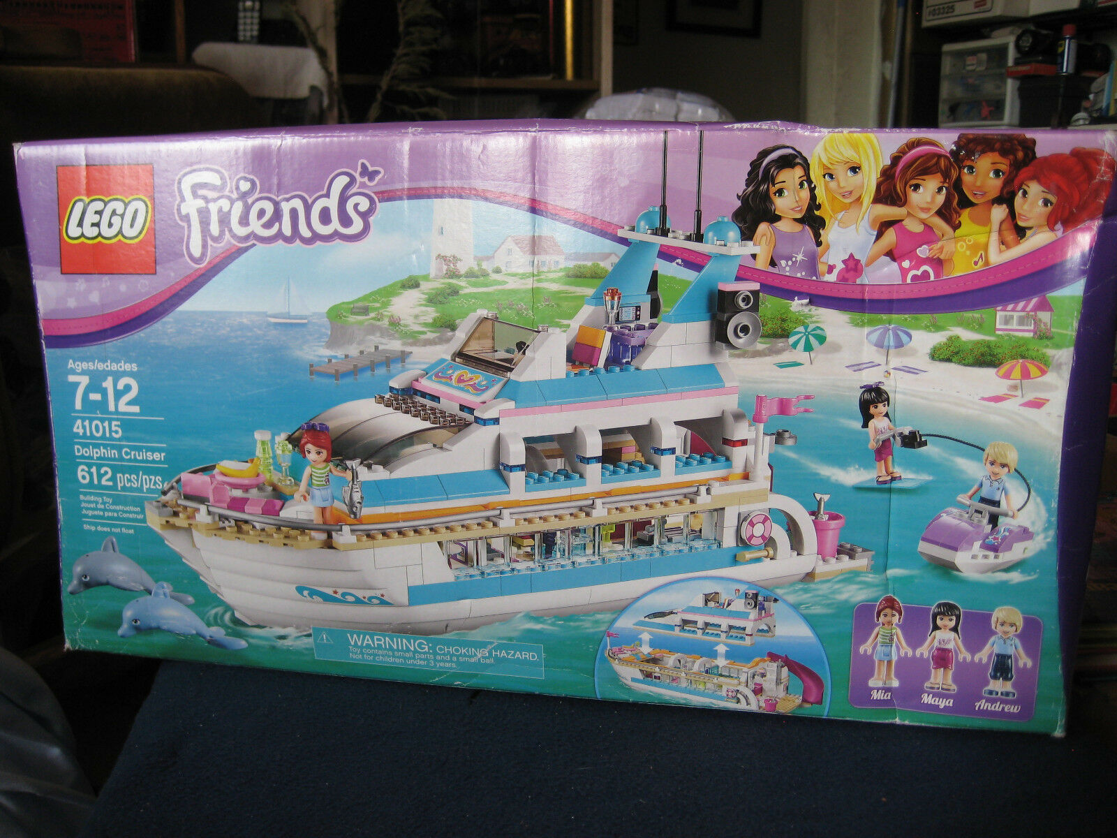 LEGO  Friends  Dolphin Cruiser  Set 41015  New Sealed