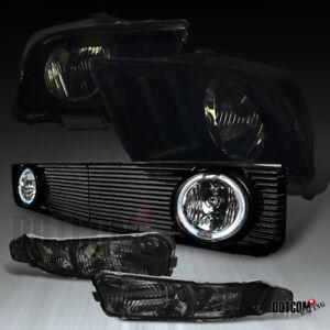 Image Is Loading 2005 2009 Ford Mustang V6 Smoke Headlights Per