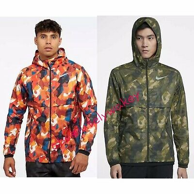 Contribuyente techo yo mismo  Nike Shield Ghost Flash Men's Running Jacket Reflective Camo Style Just Do  It | eBay
