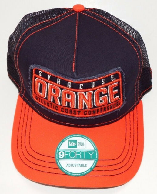 reputable site fd368 d19a7 ... coupon code syracuse orange orangemen acc basketball new era 9forty  mesh snapback hat nwt23 2ee6d 9c876