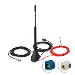 AUTO-TETTO-STAFFA-DAB-FM-AM-Radio-Digitale-Antenna-Per-OPEL-VW-GOLF-POLO-PASSAT