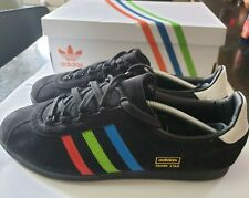 the latest 2a5a1 2b887 Adidas Originals Trimm Star! VHS Black UK12 Deadstock, not Stockholm.