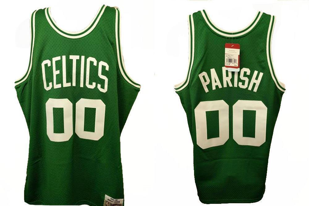 Robert Parrish -  00 Boston Celtics Hombres L-XL L-XL L-XL 85-86 Mitchell Ness Hwc 6c38db
