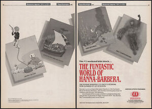 HANNA-BARBERA__Orig. 1987 Trade AD / 3pg promo_poster_JONNY QUEST_SKY COMMANDERS