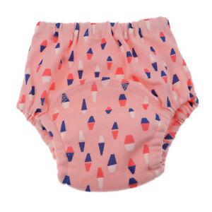 Baby Wasserdichte Lernwindel Unterwäsche Unterhose Windeln blau