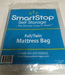 New-Made-In-USA-Self-Storage-Full-Twin-Mattress-Clear-Plastic-Bag-54-034-X-10-034-X-87