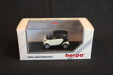 Herpa Smart City Coupé 1:43 White / Black (JS)