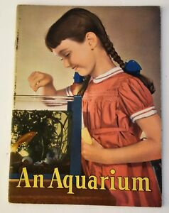1950 Adorable Book An Aquarium By Glenn O Blough Nice Condition Sale Price 36 Pages