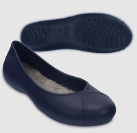 $40 Crocs Olivia Ii Lined Flat Navy Blue Size Us Women's 5 6 7 8 9 10 11 Sale