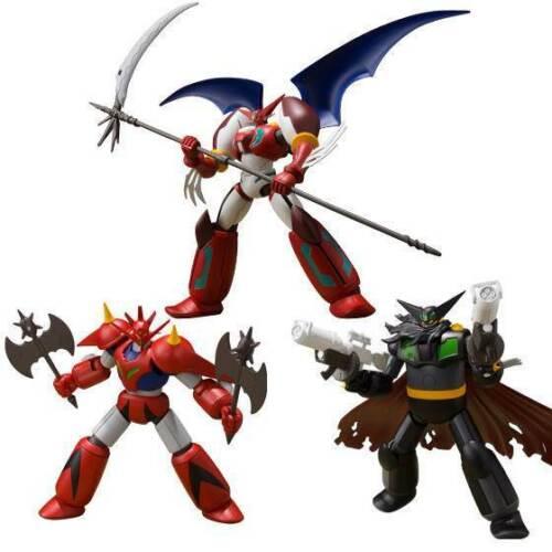 Dragon Super Minipla VOL.2 Black Getter Shin Getter 1 Box Set Robot Bandai
