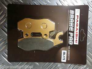 SEMI METAL BRAKE PADS FOR KAWASAKI KLF 400 B1-B7 Bayou 93-99 F(left)