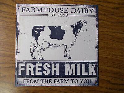 Farm Sign Farmhouse Sign Home Decor Metal Cow Sign Farmhouse Decor Metal Sign