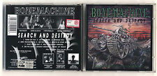Cd BONE MACHINE Search and destroy  - OTTIMO 1996 & Ted Poley Danger