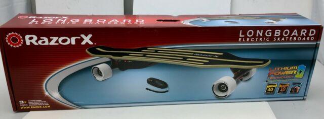 24435ebdb1c x1 New RazorX LongBoard Electric Skateboard Speed 10mph Wireless Remote  Cruiser
