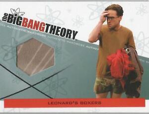 Big-Bang-Theory-Seasons-3-amp-4-M-02-034-Leonard-039-s-Boxers-034-Wardrobe-Card