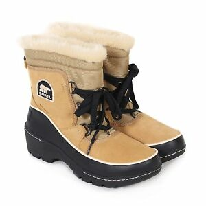 Sorel-Women-039-s-Torino-Waterproof-Suede-Lace-Up-Winter-Boot-Curry
