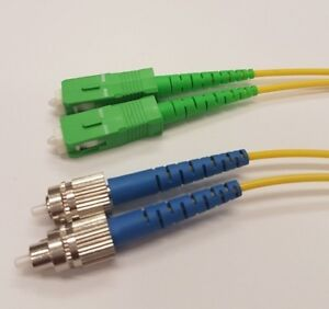 3 Mètre Atlc-scapc 2 Mm Fibre Optic Patch Cord Os2 Monomode Duplex G657a2 Lszh-afficher Le Titre D'origine