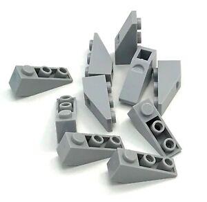 LEGO-10-nouvelle-lumiere-Bleuatre-Gris-pente-Inverse-33-3-x-1-inclinee-PIECES