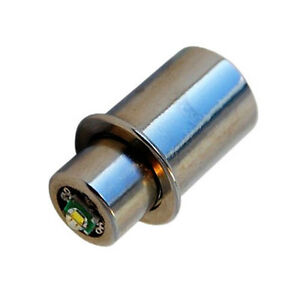 HQRP Bombilla LED 3W Módulo LED para MAGLITE 3 4 5 6 D pilas Linternas 3.2v 9V