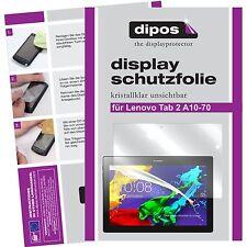 2x Lenovo Tab 2 A10-70 / A10-30 Schutzfolie Folie klar Displayschutzfolie dipos