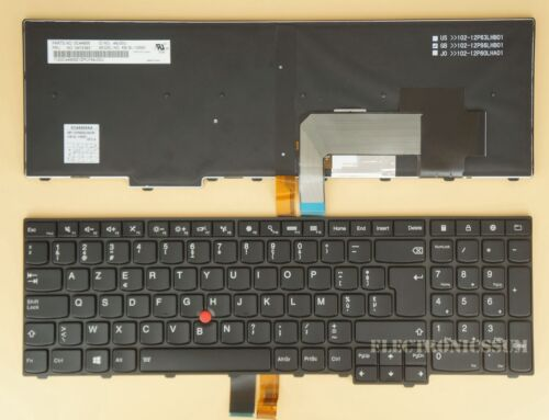 Belgian Keyboard For Thinkpad T540 T540P T550 T560 P50s 04Y2393 04Y2471 Backlit