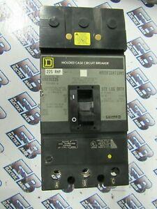 WARRANTY SQUARE D KHL36225 3 POLE 225 AMP 600 VOLT Circuit Breaker